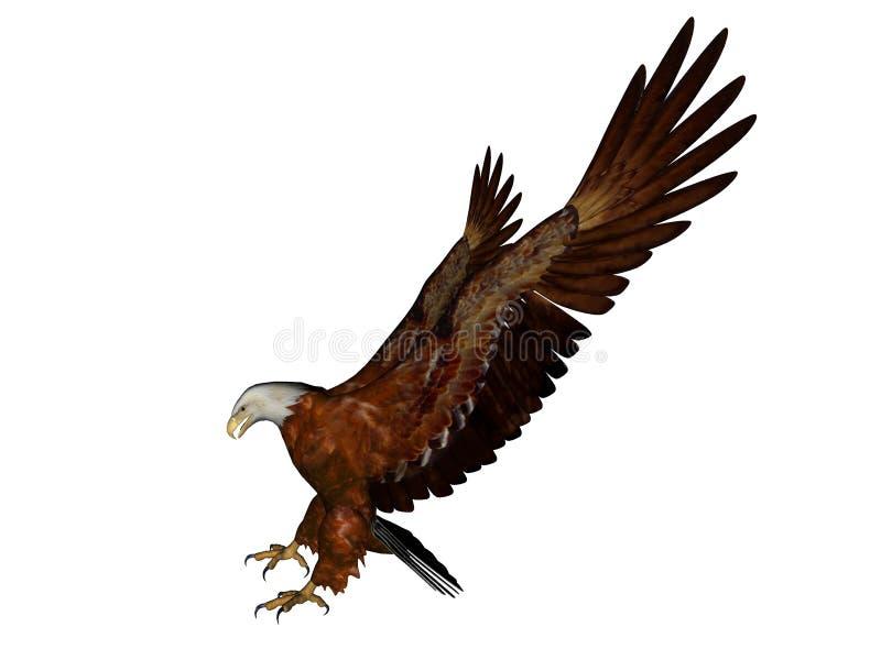 Aterrizaje del águila libre illustration