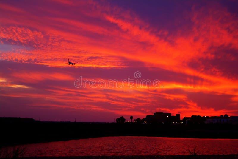 Aterrizaje en Faro fotos de archivo