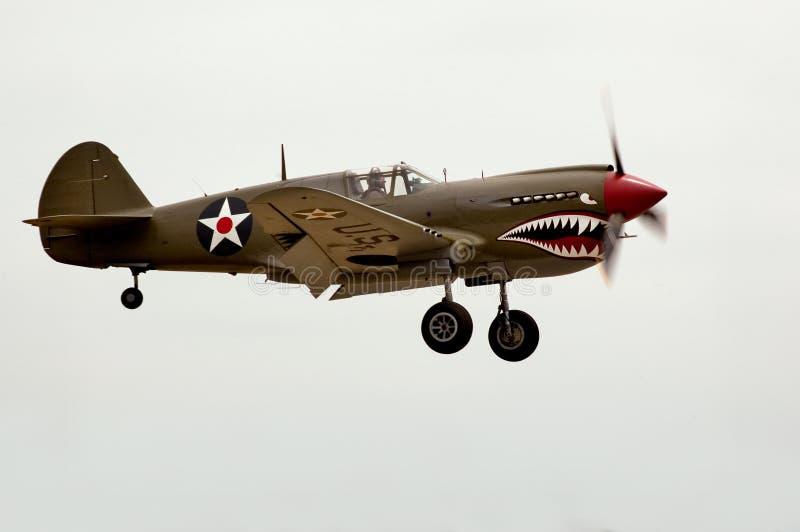 Aterrizaje P40 fotografía de archivo libre de regalías