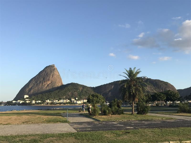 Aterro hace Flamengo fotografía de archivo libre de regalías