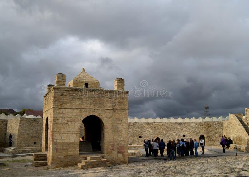 Ateshgah - ναός πυρκαγιάς στο Αζερμπαϊτζάν κοντά στο Μπακού στοκ φωτογραφία με δικαίωμα ελεύθερης χρήσης