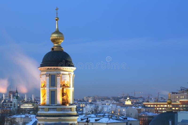 atevening temple ortodoksyjny razem zdjęcia royalty free