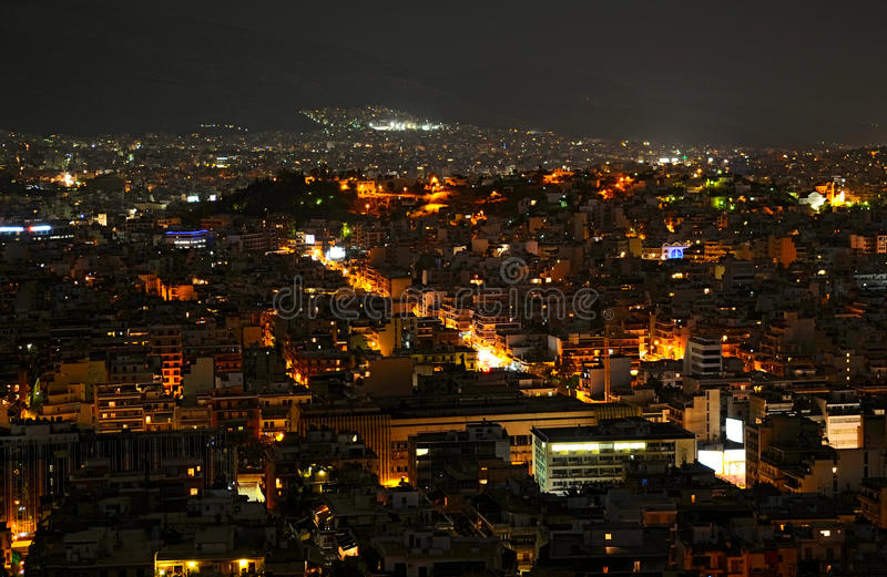 Athènes photo stock