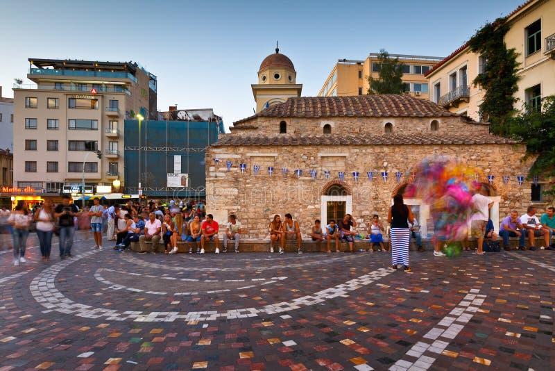 Download Athènes, Grèce photo stock éditorial. Image du attraction - 76078968