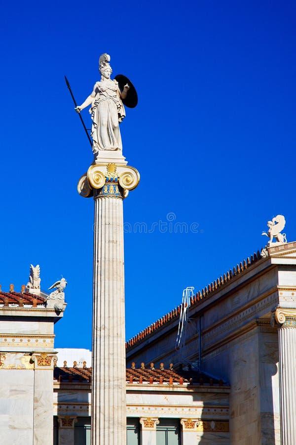 Athéna photo libre de droits