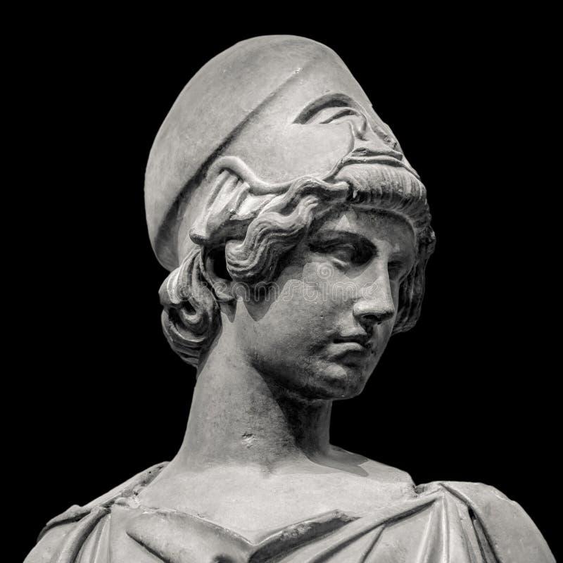 Athéna la déesse du grec ancien photos stock