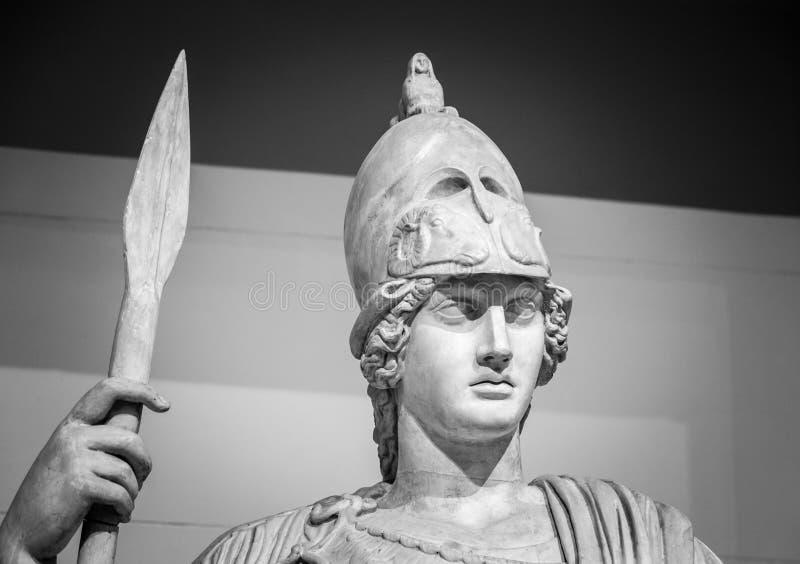 Athéna la déesse du grec ancien photos libres de droits