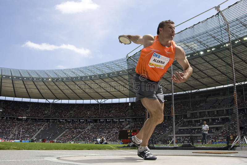 ATH: Berlin Golden League Athletics lizenzfreie stockbilder