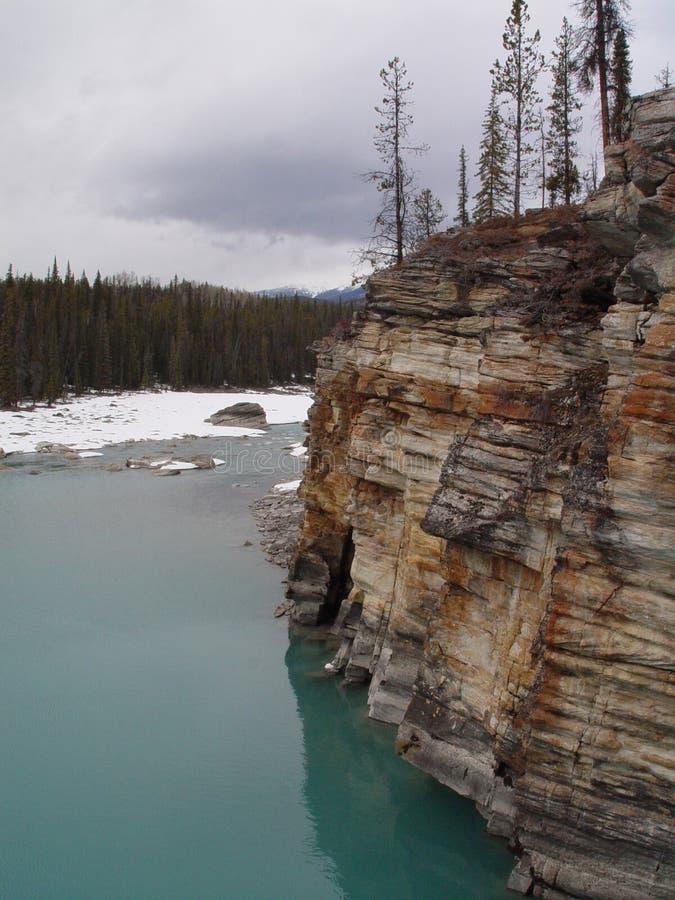 Athabasca Falls stock photos