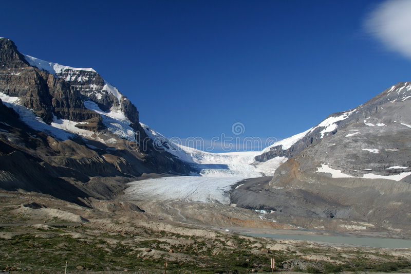 Athabasca Glacier stock photography