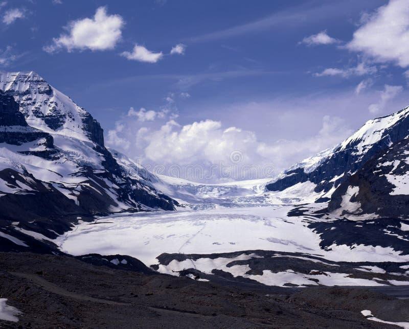 Athabasca-Gletscher, Alberta, Kanada. stockfoto