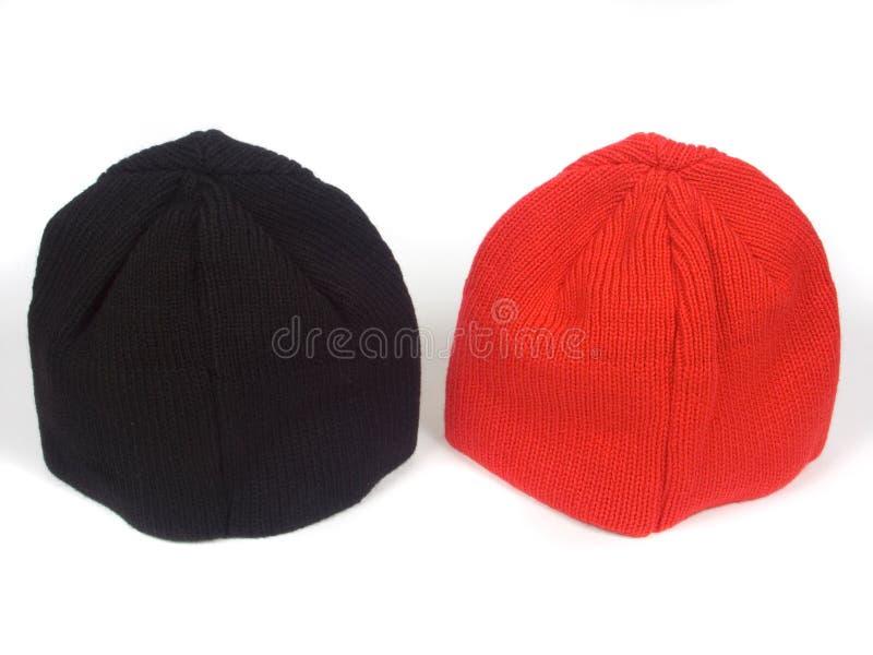 atheletic blackenning κόκκινο καπέλων στοκ φωτογραφία