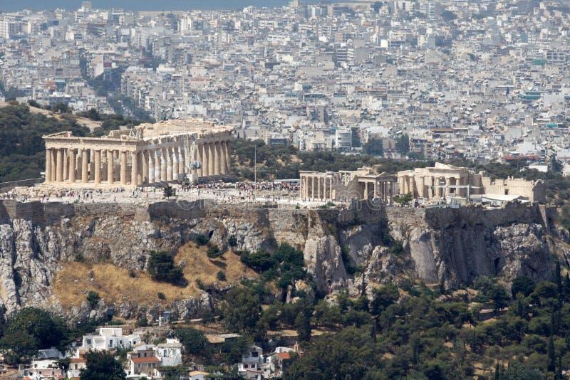 Athen-Akropolis stockfotografie