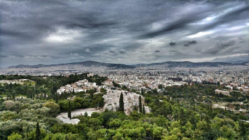 Athen, Griechenland stockbilder