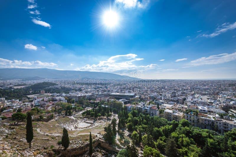 Athen-Stadt in Griechenland stockbild