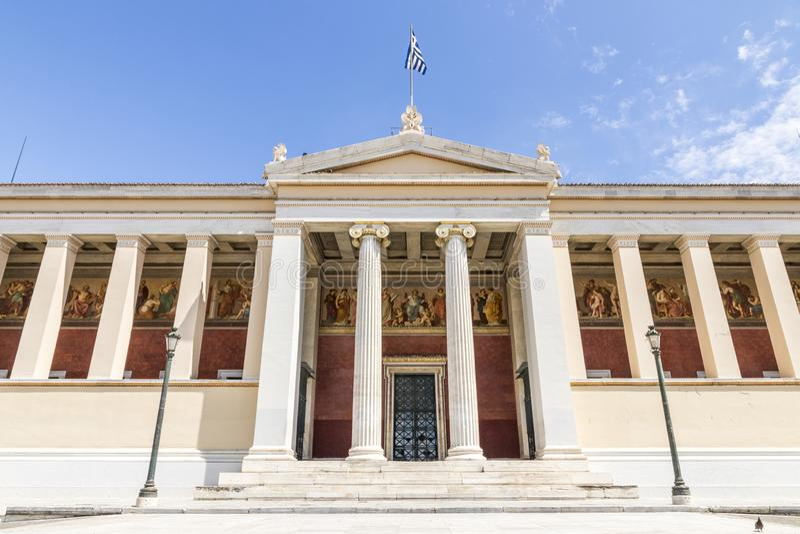 Athen-Universit?t, Griechenland stockfotografie