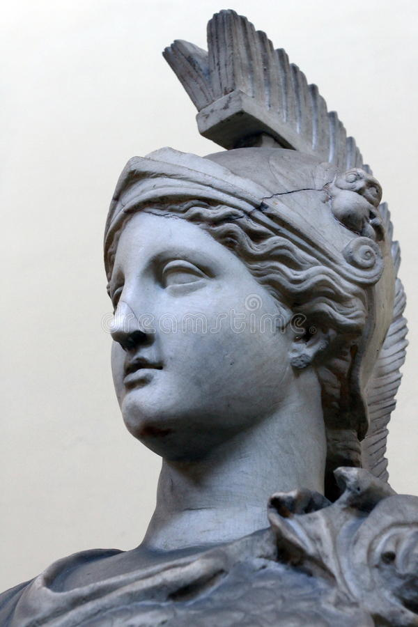 Athena foto de stock