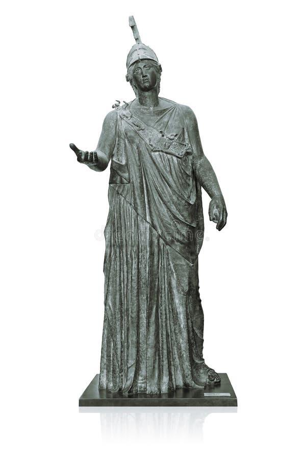 Athena Grecka bogini mądrość zdjęcia stock