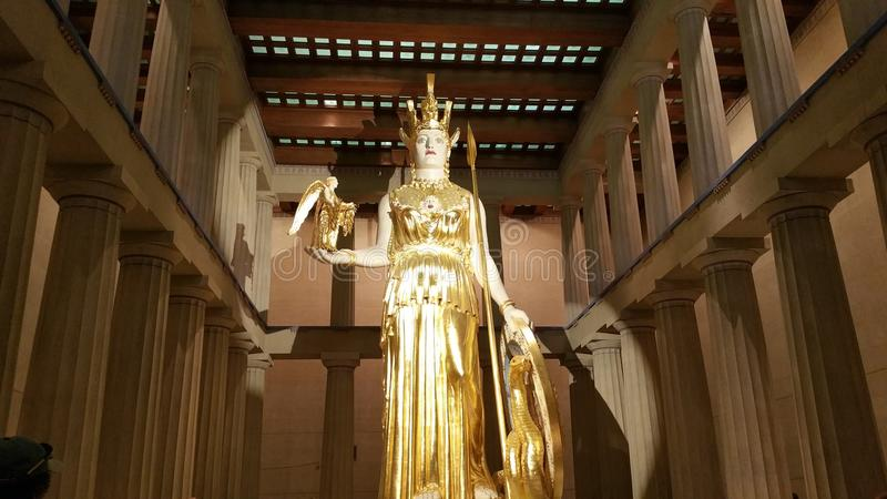 Athena royalty free stock photo