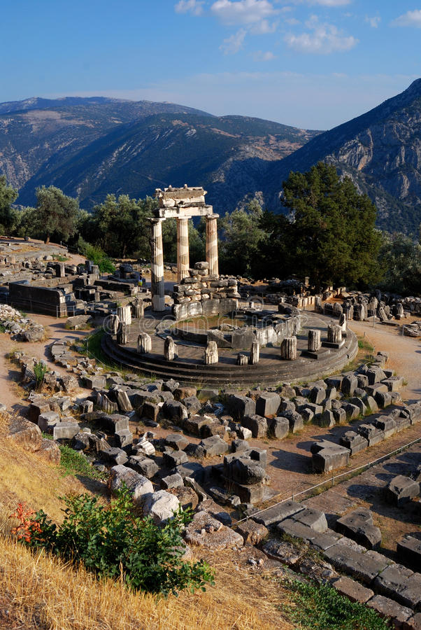 Free Athena Pronaia Sanctuary At Delphi, Greece Royalty Free Stock Photos - 16147588