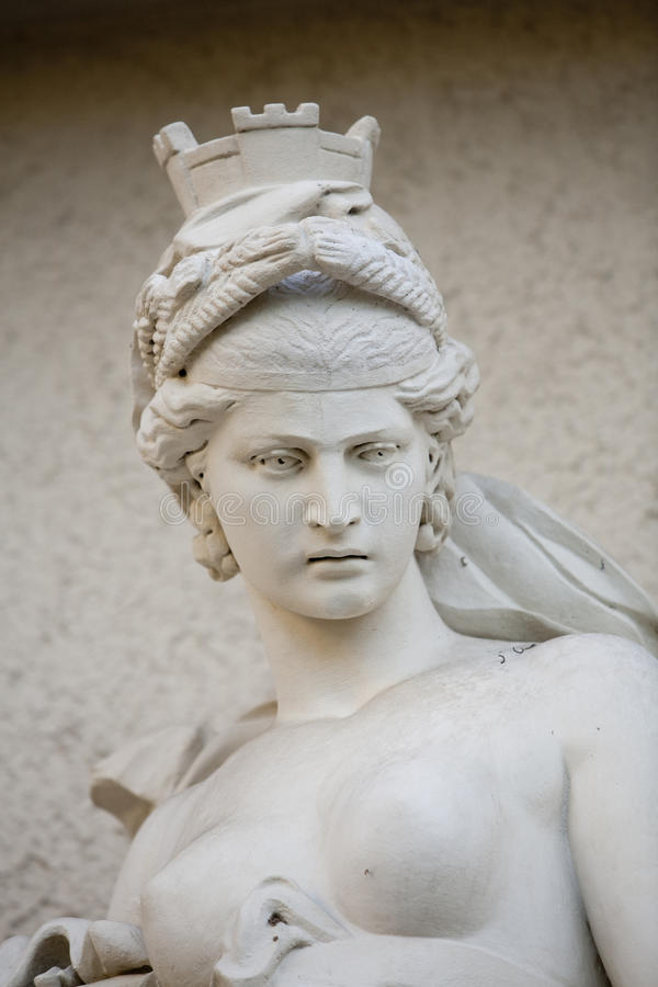 Athena Statue. PASADENA, CA - JANUARY 18: A statue of the mythological Athena at the Huntington Library in Pasadena, CA on January 18, 2009