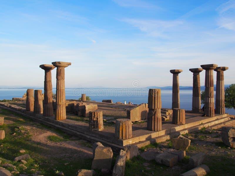 Athena Temple stock afbeelding