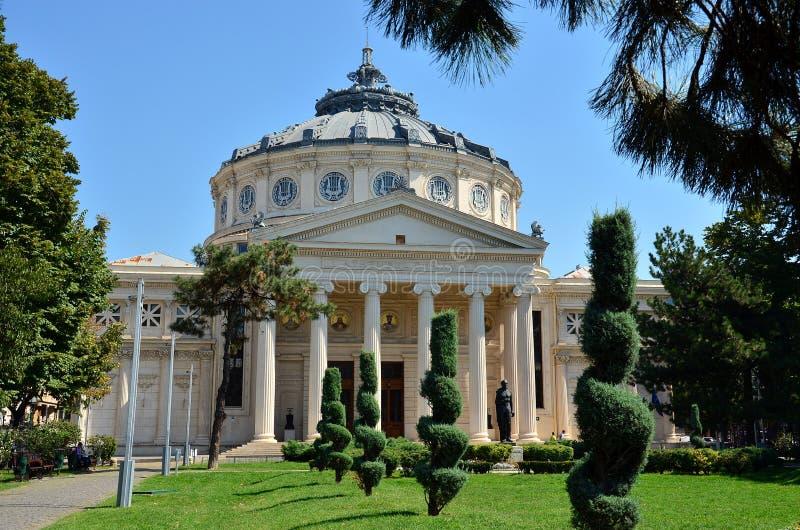 Athenaeum Bucharest, Rumänien arkivfoton