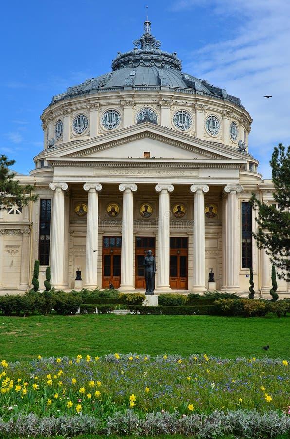 Athenaeum Bukarest, Rumänien stockfoto