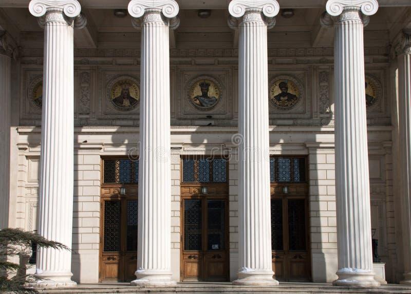 Athenaeum em Bucareste fotos de stock royalty free
