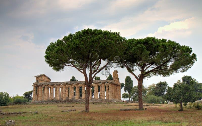 athene świątynia fotografia stock