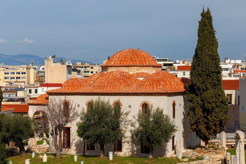 athene Мечеть Fethiye стоковое фото rf