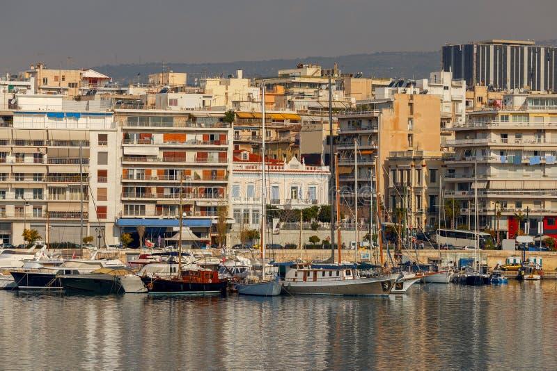 athene Порт Пирей стоковое фото
