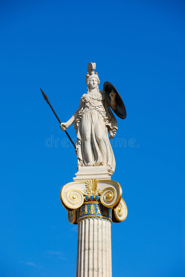 Athene, Griechenland stockbilder