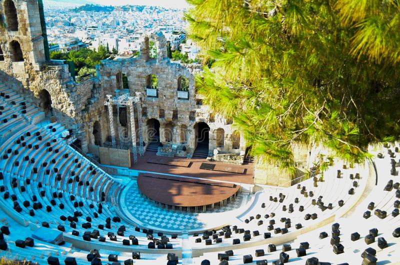 Athene, Griekenland royalty-vrije stock fotografie
