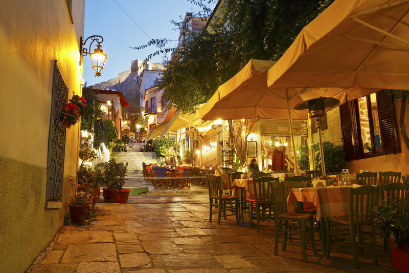 Athene, Griekenland royalty-vrije stock afbeelding