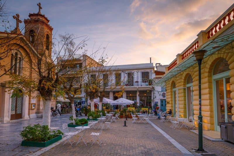 Athene, Griekenland royalty-vrije stock foto