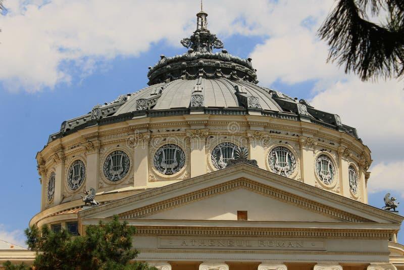 Atheneum Бухареста стоковая фотография