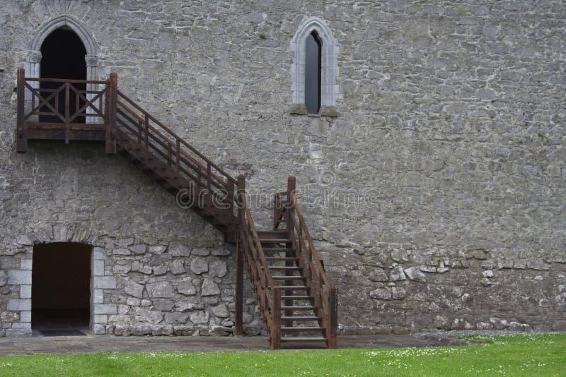 athenry城堡详细资料 库存照片