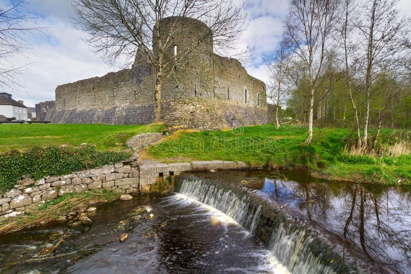 Athenry Schloss in Co. Galway lizenzfreie stockbilder