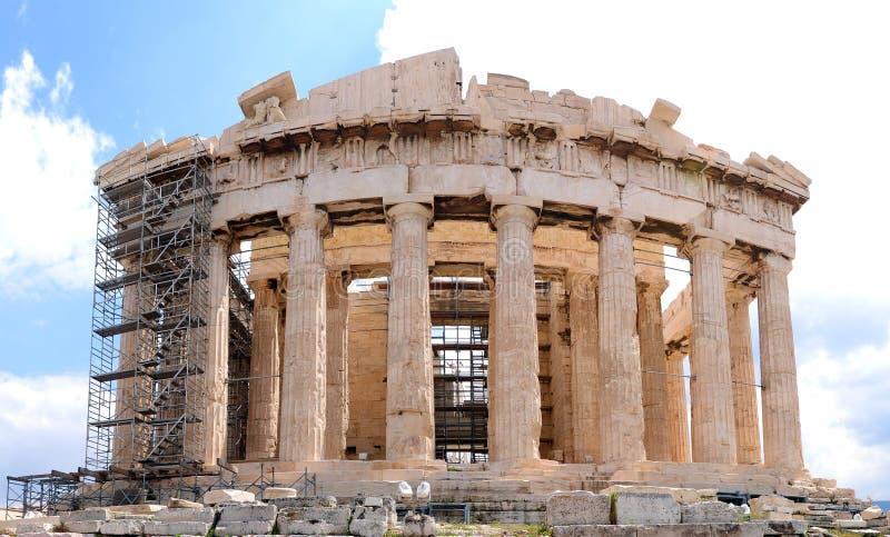 Athens Acropolis royalty free stock photo