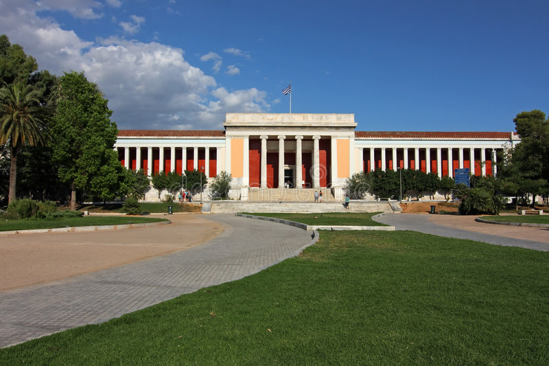 Download Athens Archaeological Museum Stock Photo - Image: 5880312