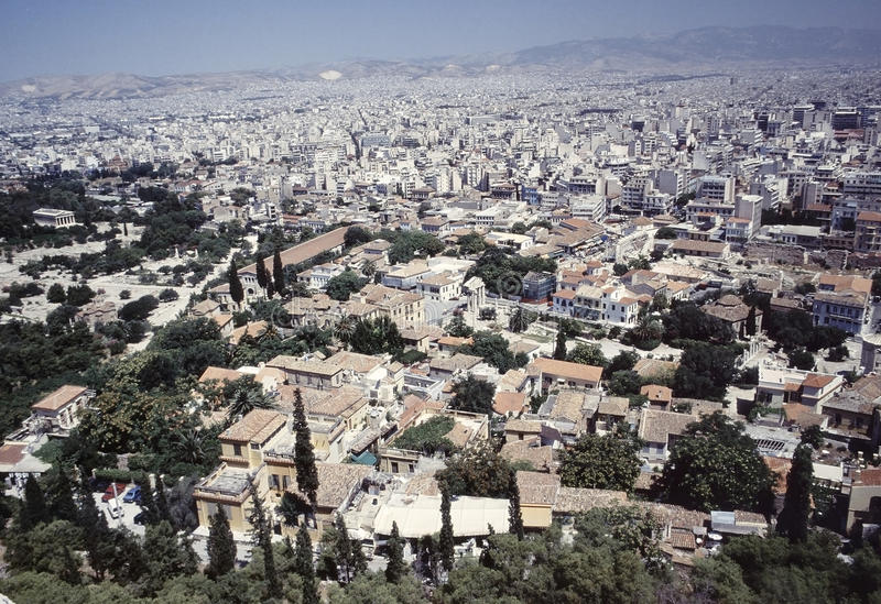 Download Athens City View Royalty Free Stock Photography - Image: 25721317