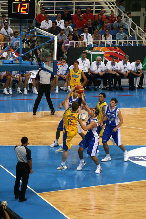 Download Athens - FIBA 2008 Basketball Editorial Photo - Image: 5805061