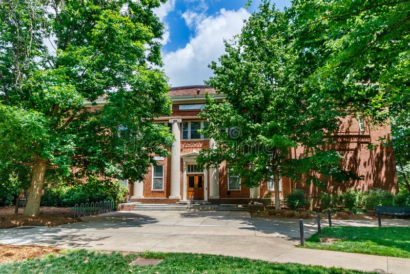 Peabody Hall at the University of Georgia. Athens, ga, usa -  3: peabody hall on  3,  at the university of georgia in athens stock photos