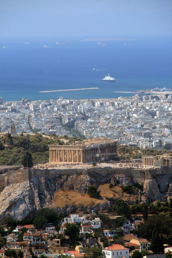 athens greece royaltyfria foton