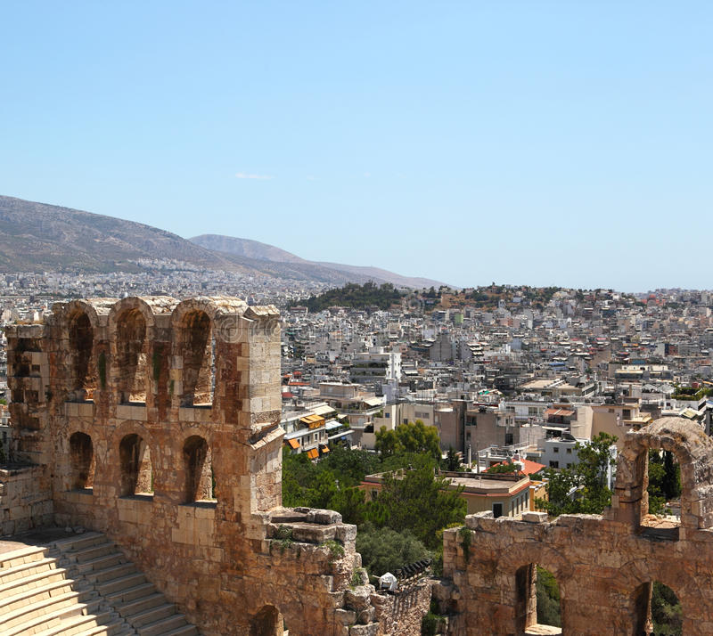 Download Athens, Greece stock image. Image of acropolis, classical - 20590901