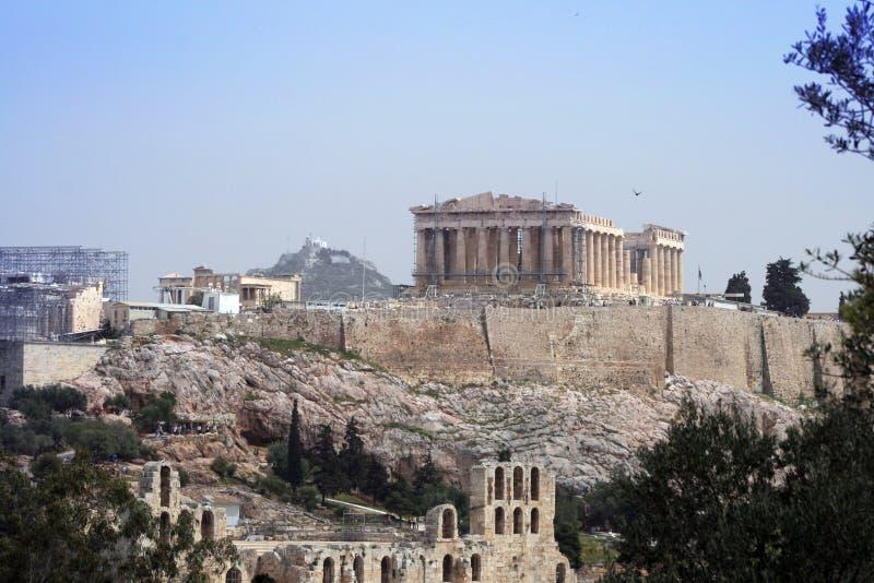 athens greece royaltyfria bilder
