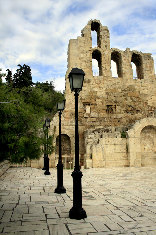 Free Athens, Greece - Herodus Atticus Theatre Stock Images - 3841824