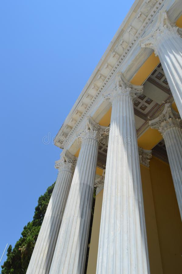 Zappeion in Athens, Greece on June 23, 2017. ATHENS, GREECE - JUNE 23: Zappeion in Athens, Greece on June 23, 2017 stock photography