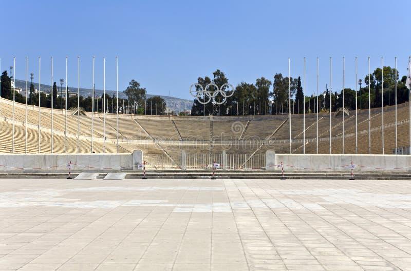 athens Greece kallimarmaro stadium obrazy stock